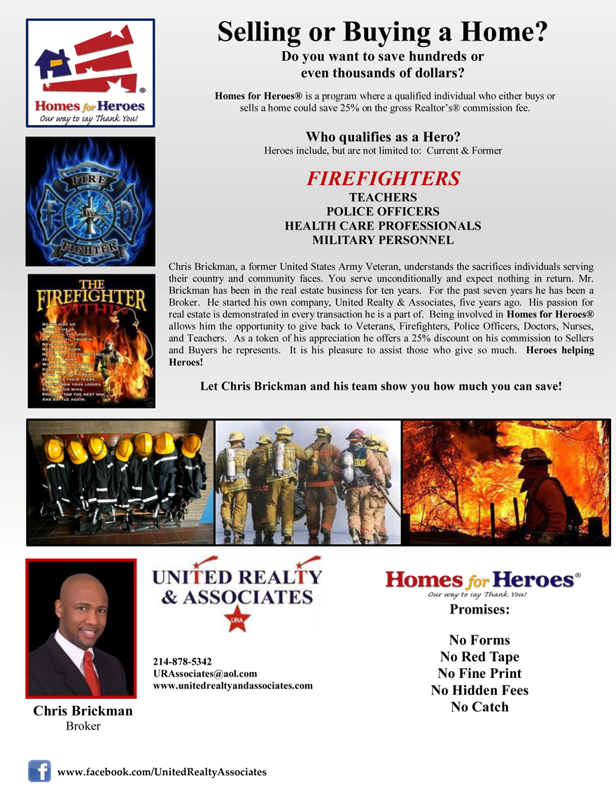 homes for firefighers
